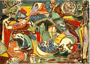 The Key by Jackson Pollock