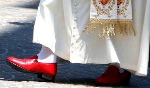 Pope's Prada Shoes