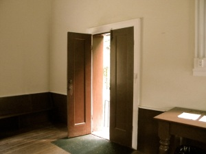 open-church-door