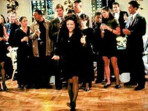 Elaine dancing
