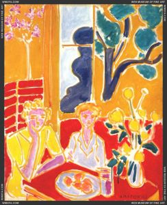 Two_Girls_in_a_Yellow_and_Red_Interior_1947