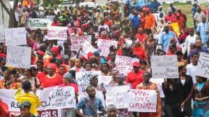Nigerian Protest