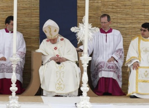 sleeping pope