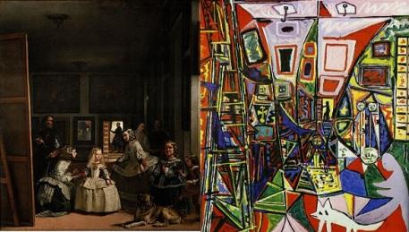 Las Meninas Velazquez and Picasso