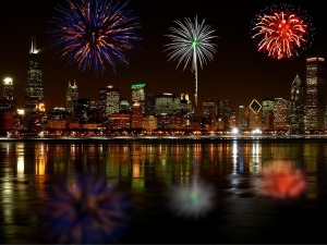 Happy New Year Chicago