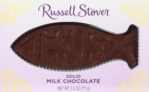 Solid Jesus Fish