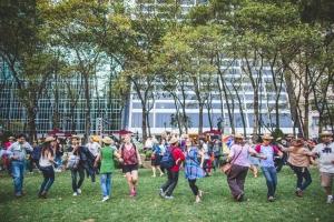 Bryant Park Square Dance