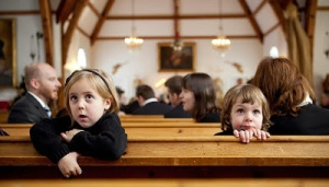 Children in church 1
