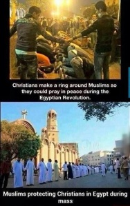 Christians and Muslims Protect Each Other