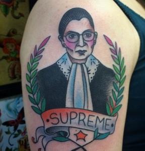 Nikki Lugo tattoo 2014