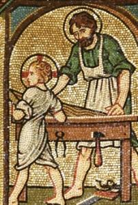 Mosaic St Joseph the worker