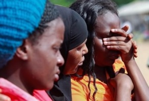 Students in Garissa, Kenya
