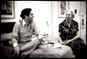 Reynolds Price and Eudora Welty by Jill Krementz