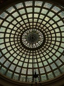 Ceiling of Chicago Cultural Center