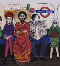 Jesus on the Tube
