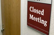 closed-meeting